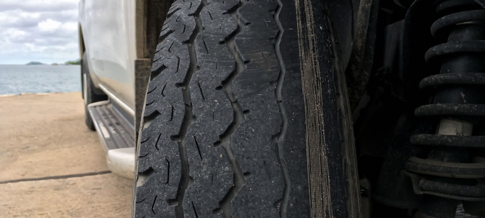 The condition and life of a tyre is also affected by driver behaviour